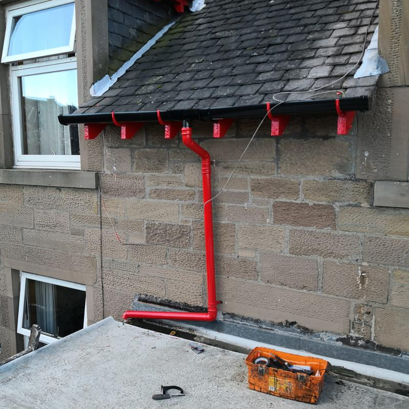 Image 31 - New guttering replacement