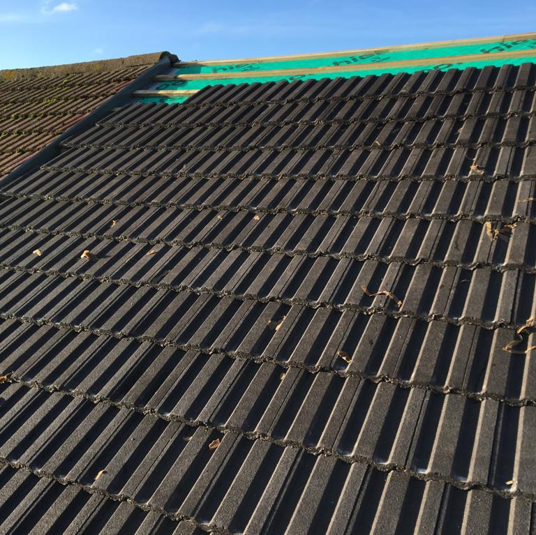 Image 40 - New roof tiles