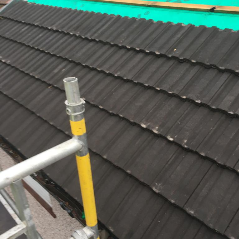 Image 41 - New roof tiles