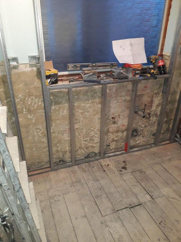 Image 177 - New partition installation (studwall)