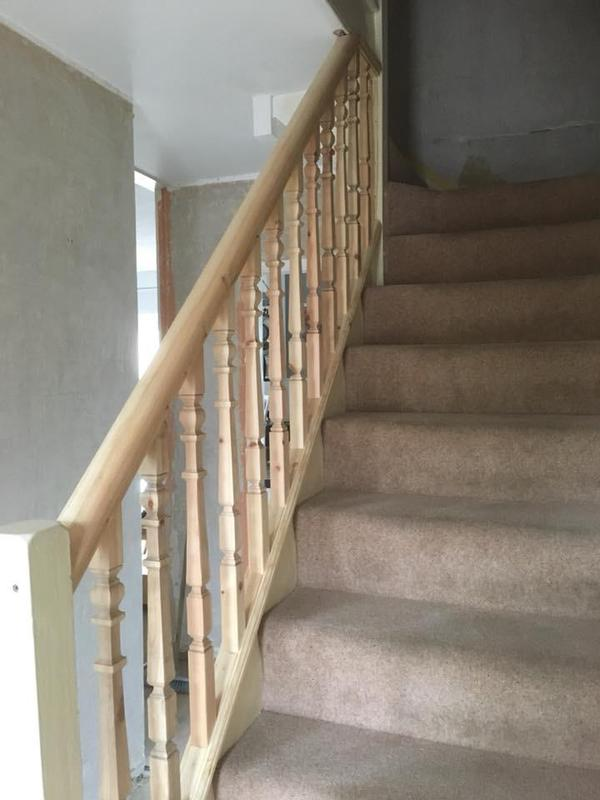 Image 25 - Handrail and spindles