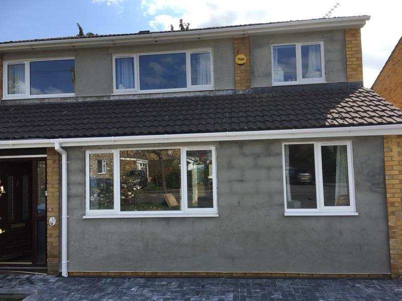 Image 27 - Front and side wrap around extension