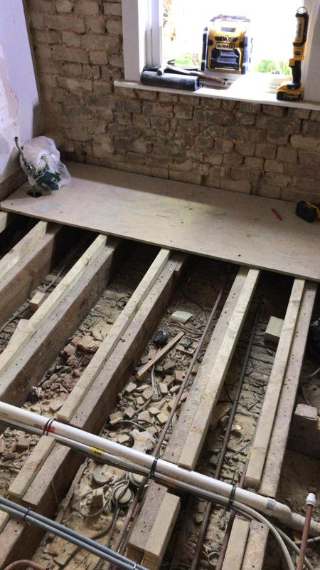 Image 28 - Work in progress on new Chelmsford bathroom