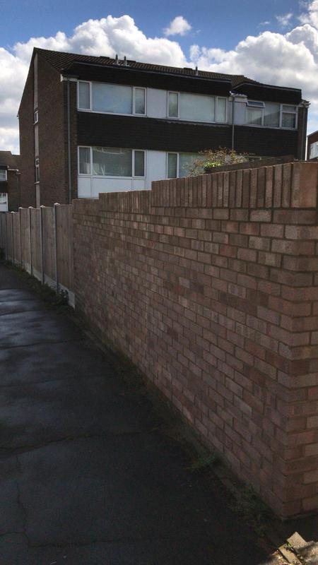 Image 41 - New brick wall