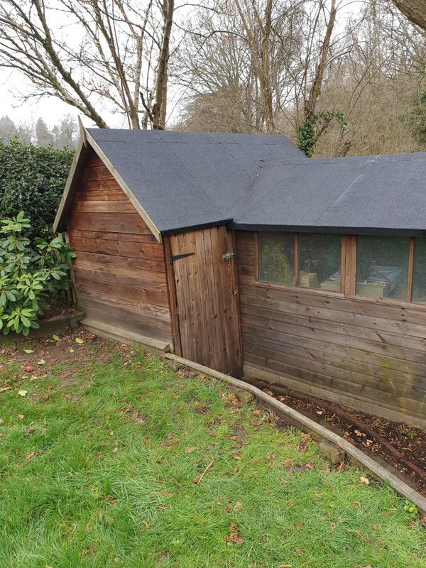 Image 11 - Felt shed roof