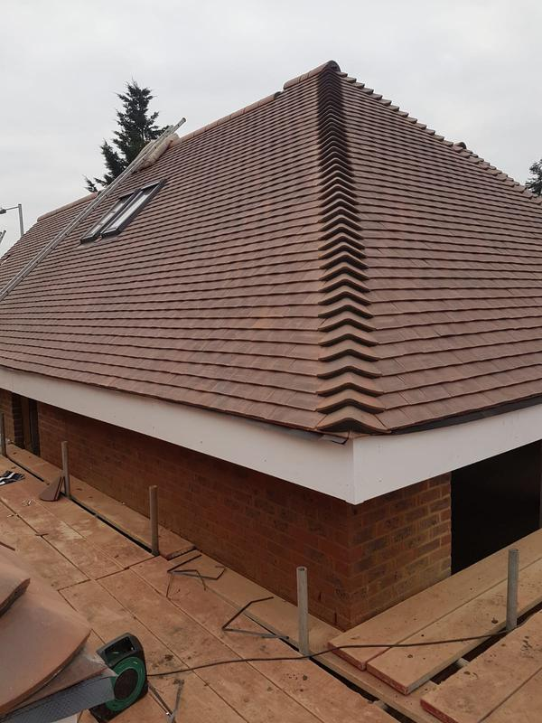 Image 45 - New roof with clay tiles