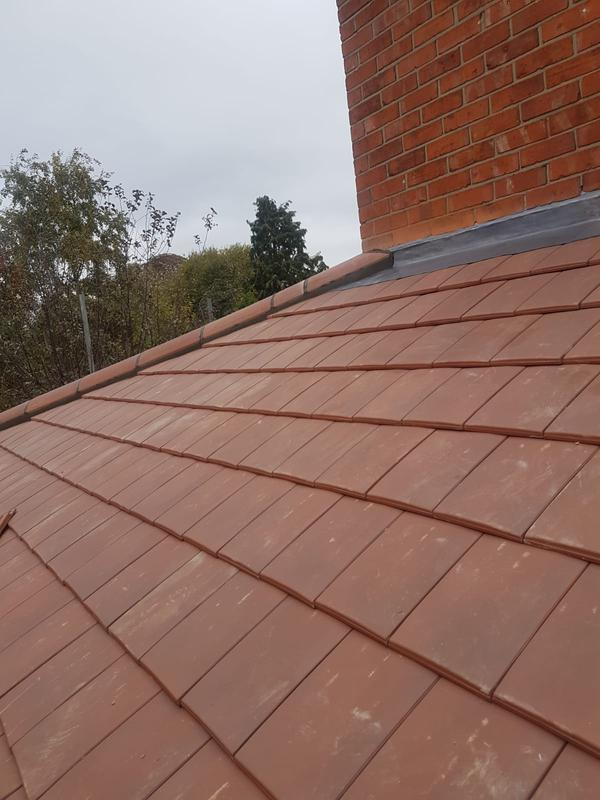 Image 48 - 50/50 clay tiles can come down to 15 degrees