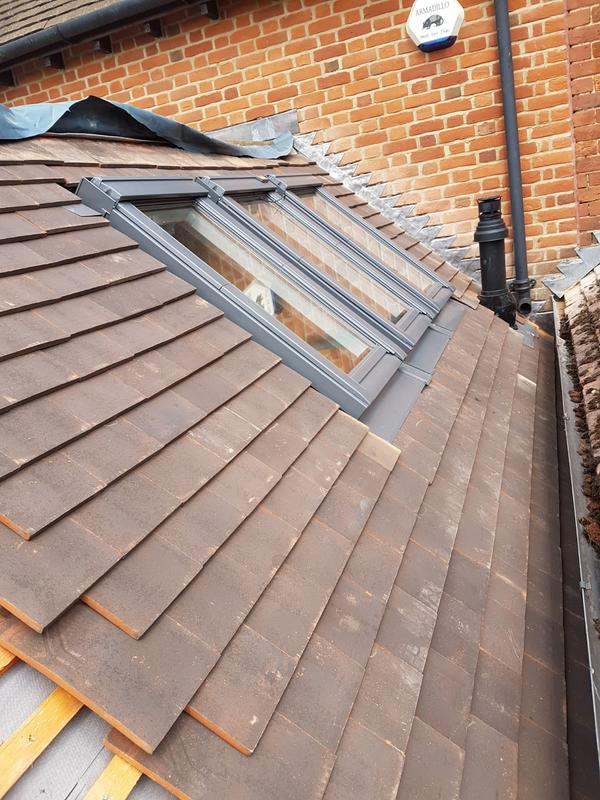 Image 8 - Clay tile extension with new velux windows