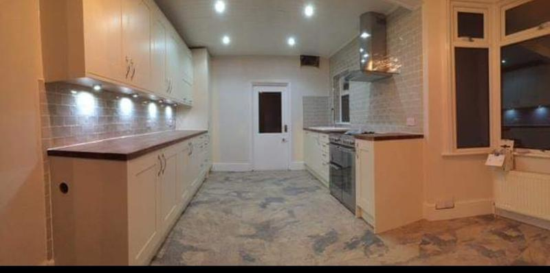 Image 6 - Hanwell Kitchen, Downlights switches, under unit lights, underfloor heating,  Plastering, Tiling and Carpentry provided upon request.