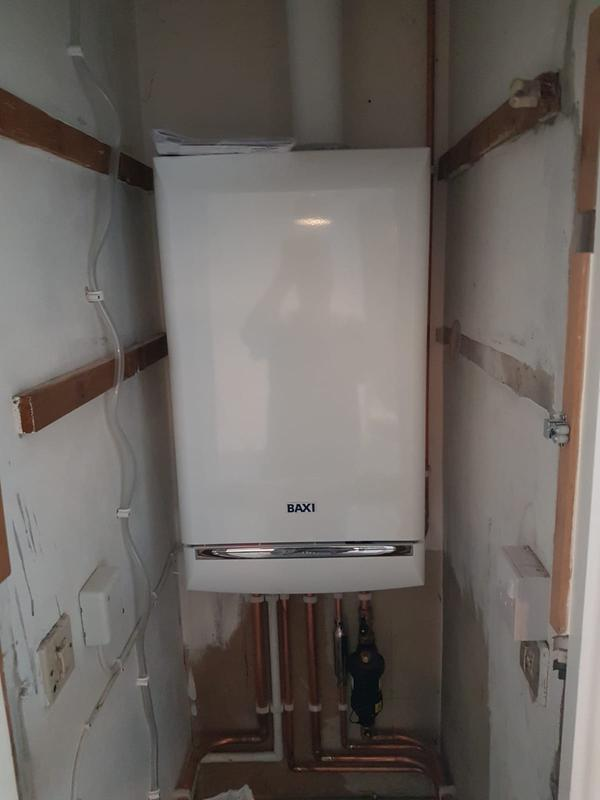 Image 4 - New combination boiler in a clients home.