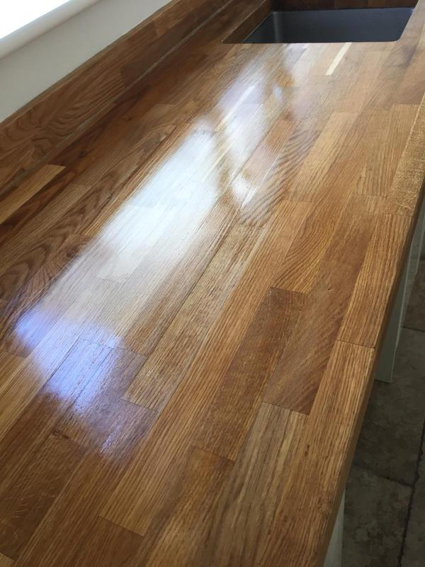 Image 46 - Worktops sander and re oiled