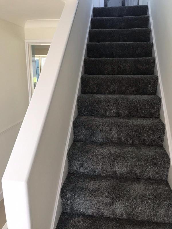Image 54 - Stairwell repainted and new carpet