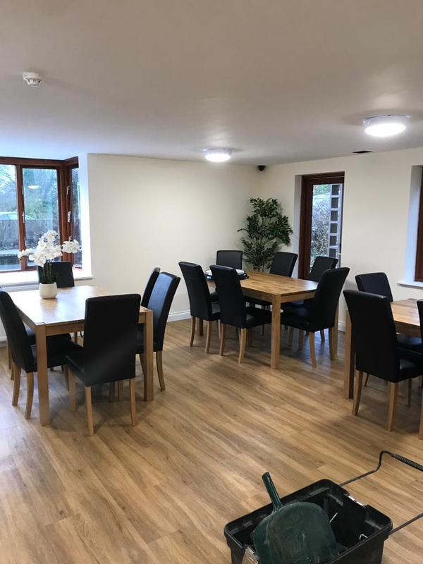 Image 67 - Care home dining area