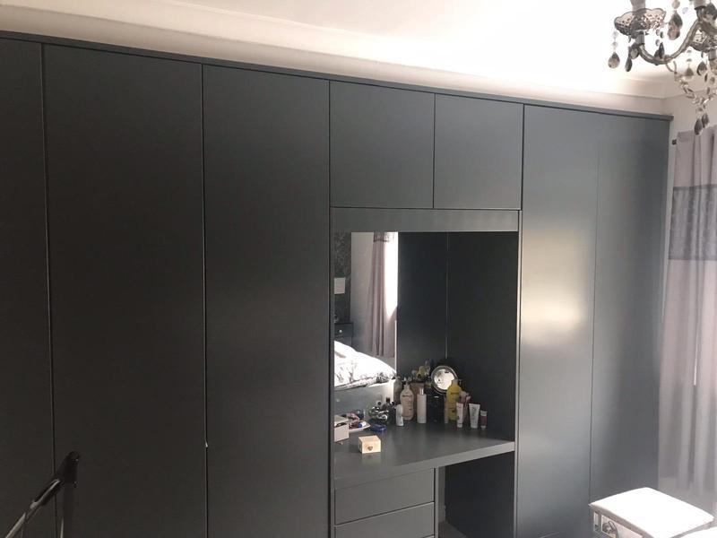 Image 75 - Wardrobe doors re painted
