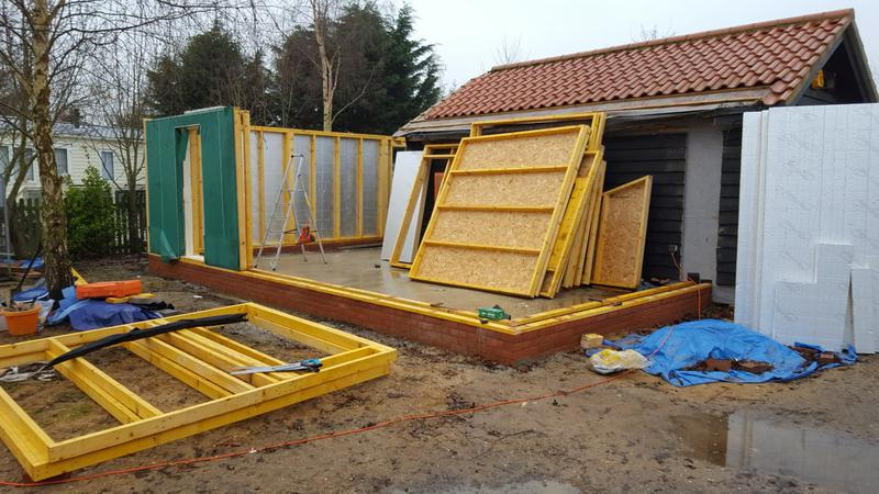 Image 360 - Timber wall frame assembly