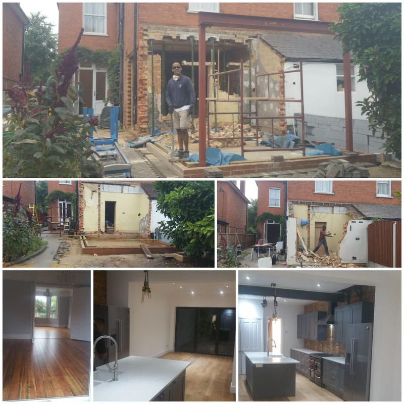 Image 6 - NEW KITCHEN EXTENSION AND HOUSE REFURBISHMENT