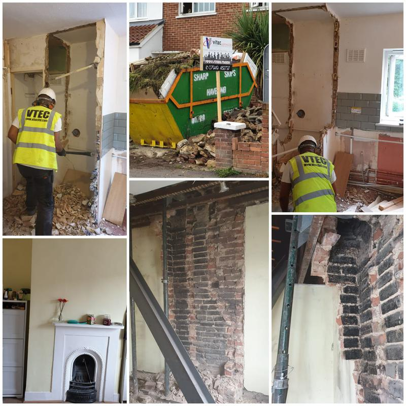 Image 15 - CHIMNEY BREAST REMOVAL WITH HOUSE REFURBISHMENT