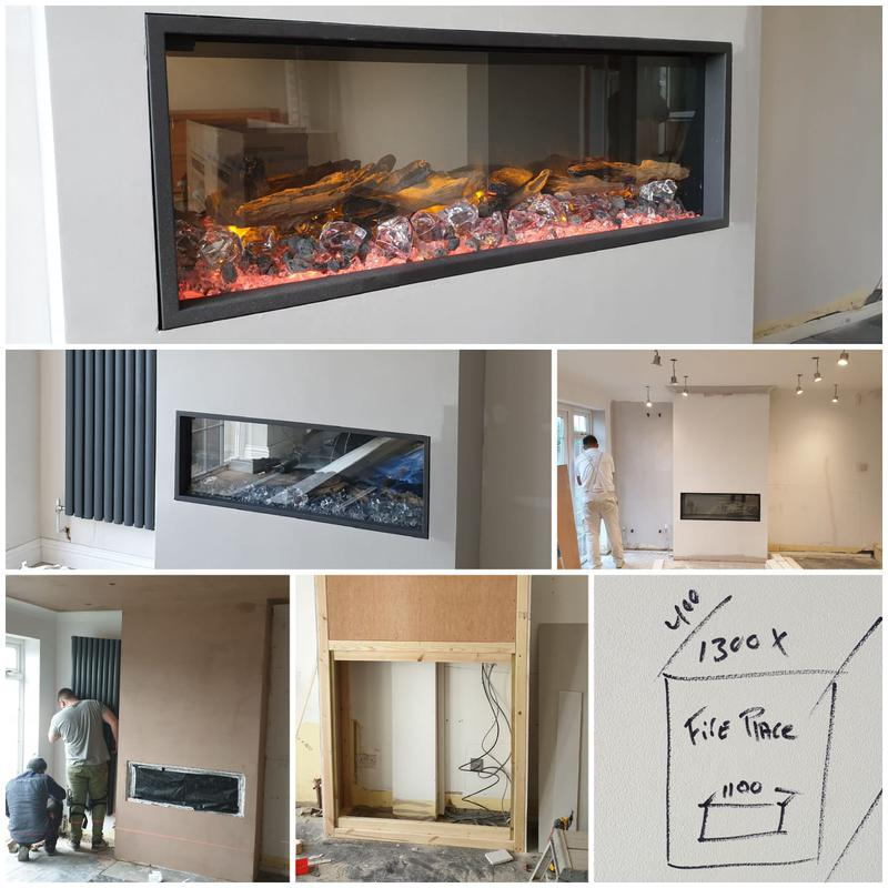 Image 16 - 4 BEDROOM HOUSE REFURBISHMENT WITH ARTIFICIAL FIRE PLACE AND GARAGE CONVERSION