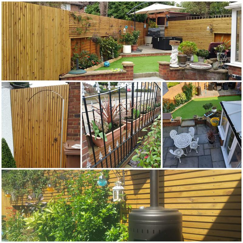 Image 20 - GARDEN DESIGN AND BUILD WITH SLATTED FENCING