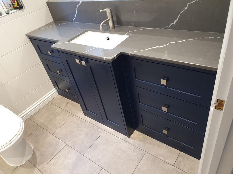 Image 4 - Bespoke vanity unit.