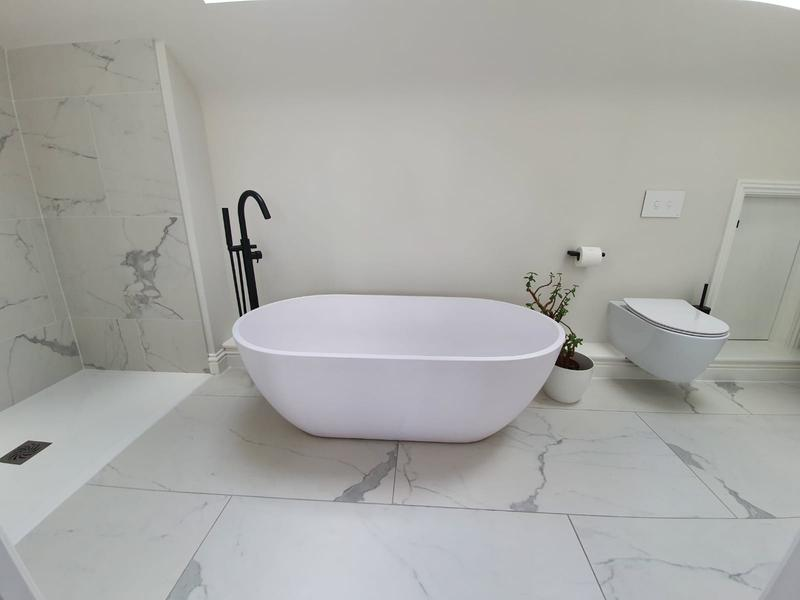 Image 29 - Roof extension bathroom
