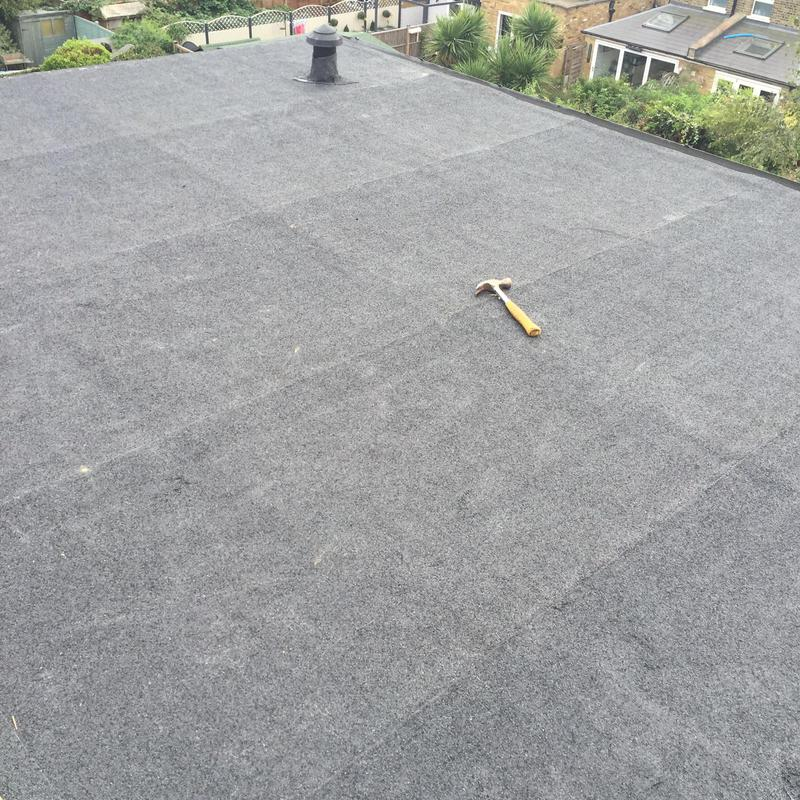 Image 31 - Felt flat roof in Twickenham.
