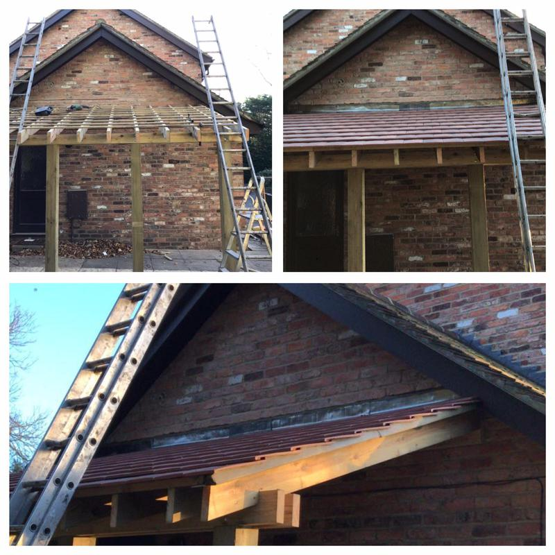 Image 41 - Another built roof by us and roof applied.