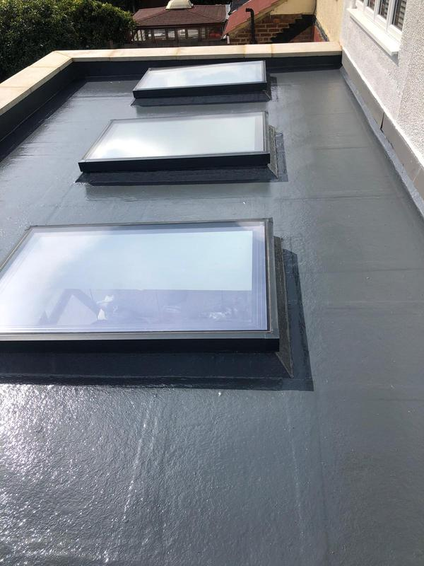 Image 63 - Flat roof by us in Worcester park