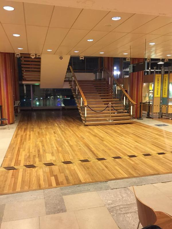 Image 11 - royal festival hall sanded and varnished
