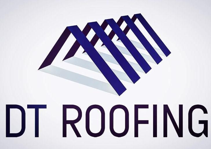 DT Roofing logo