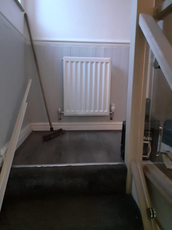Image 17 - New radiator fitted