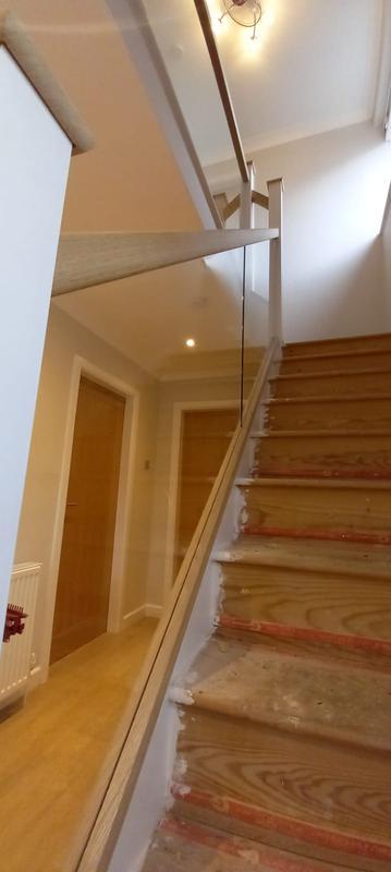 Image 6 - Staircase Glass balustrades
