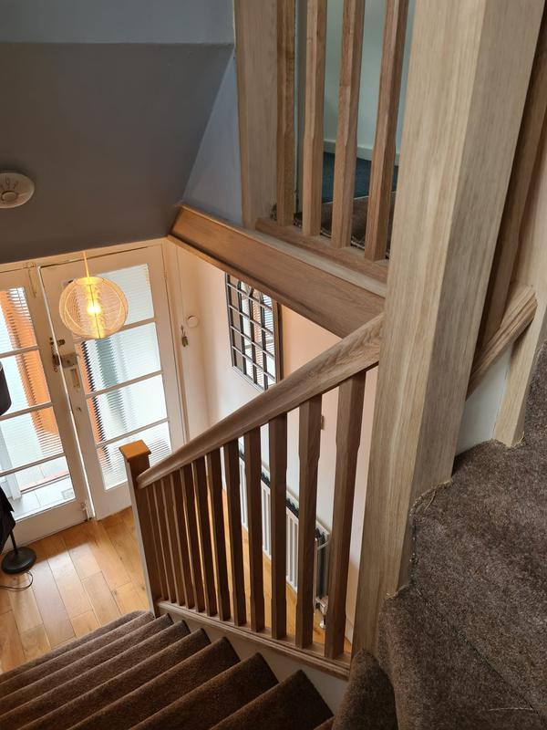Image 4 - Oak staircase renovation