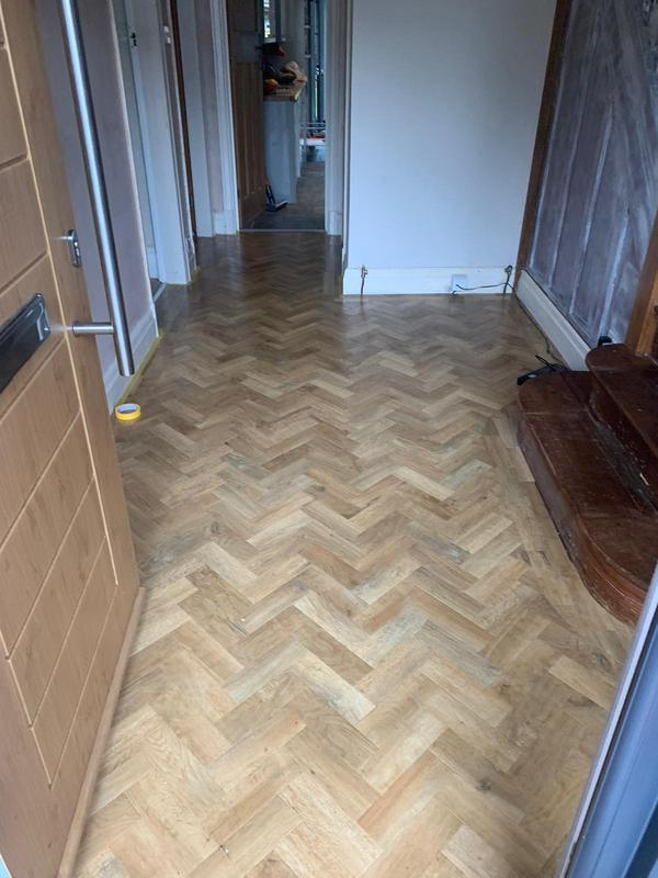 Image 1 - Flooring is always adequately protected prior to work starting.