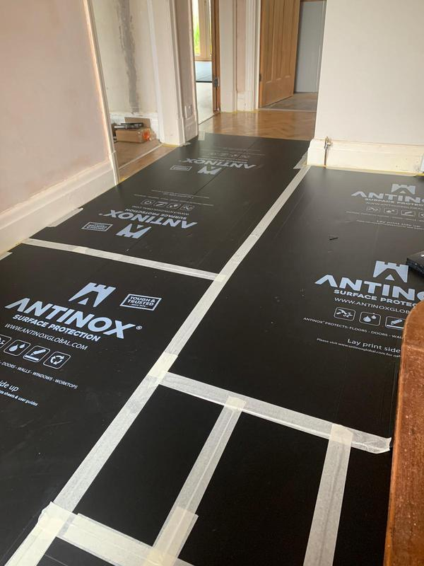 Image 2 - Flooring is always adequately protected prior to work starting.