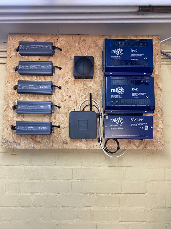 Image 5 - Installation of a Rako Control Lighting system for a large rear extension of the property.