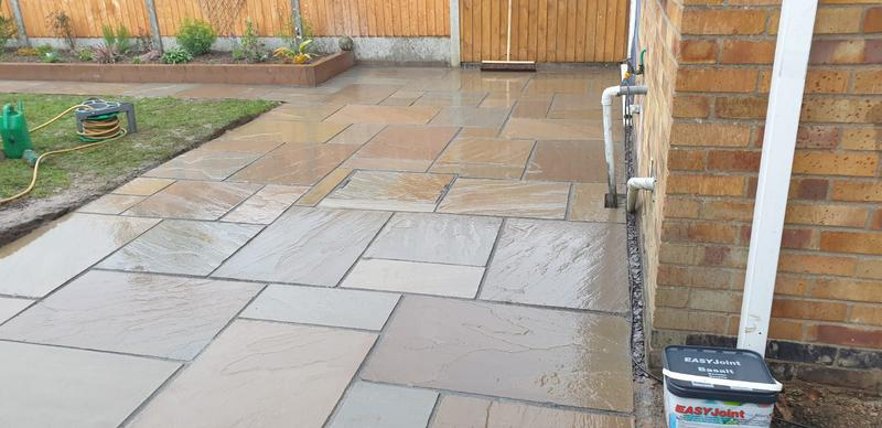 Image 2 - Indian sandstone patio
