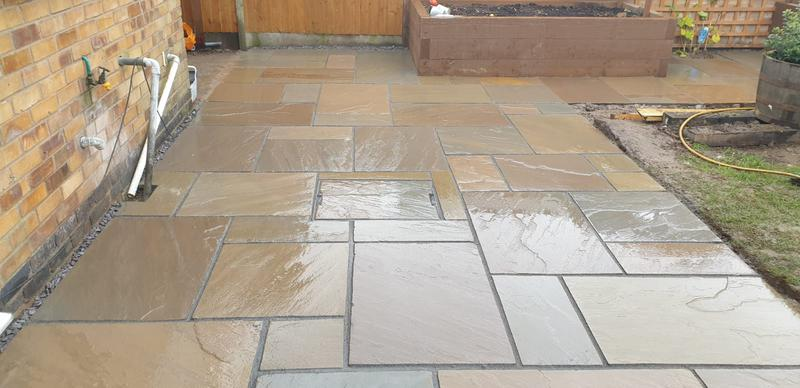 Image 3 - Indian sandstone patio
