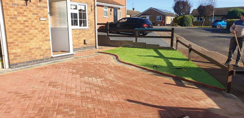 Image 4 - Block paving driveway