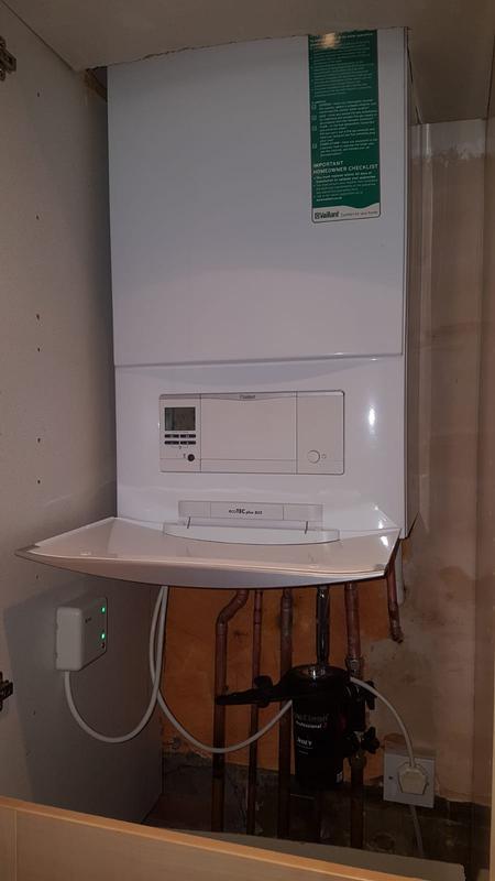 Image 15 - New boiler installation