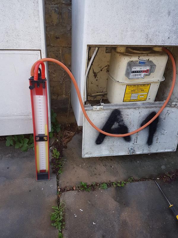 Image 8 - Gas leak test
