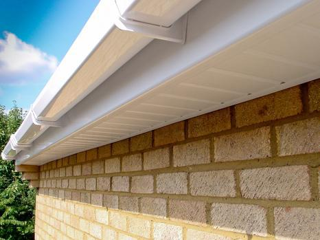 Image 1 - starter trim hollow soffit fascia board finished will squareline guttering