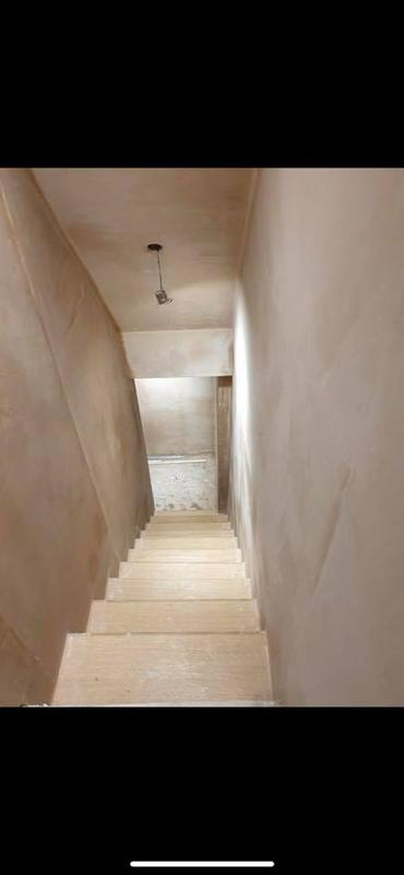 Image 19 - Whitefield Basement - During - Staircase cleaned and installed