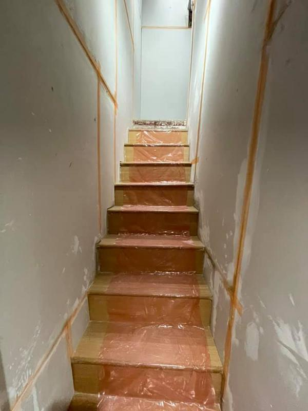 Image 20 - Whitefield Basement - During - New staircase