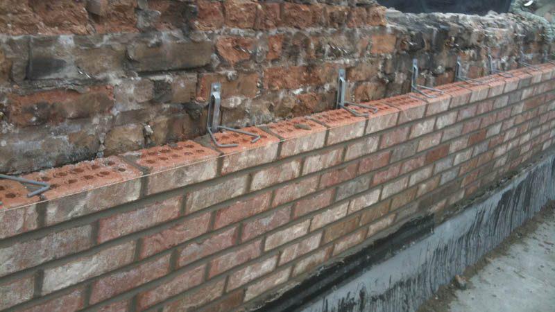 Image 167 - Brick wall construction