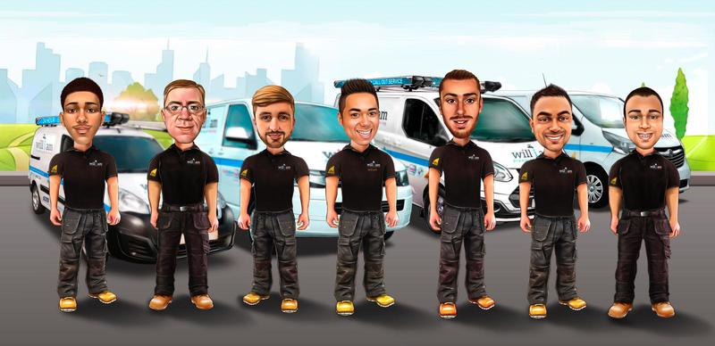 Image 1 - Meet our Team at will i am Plumbing & Heating Ltd