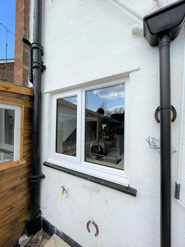 Image 1 - Window Installation (Exterior View)
