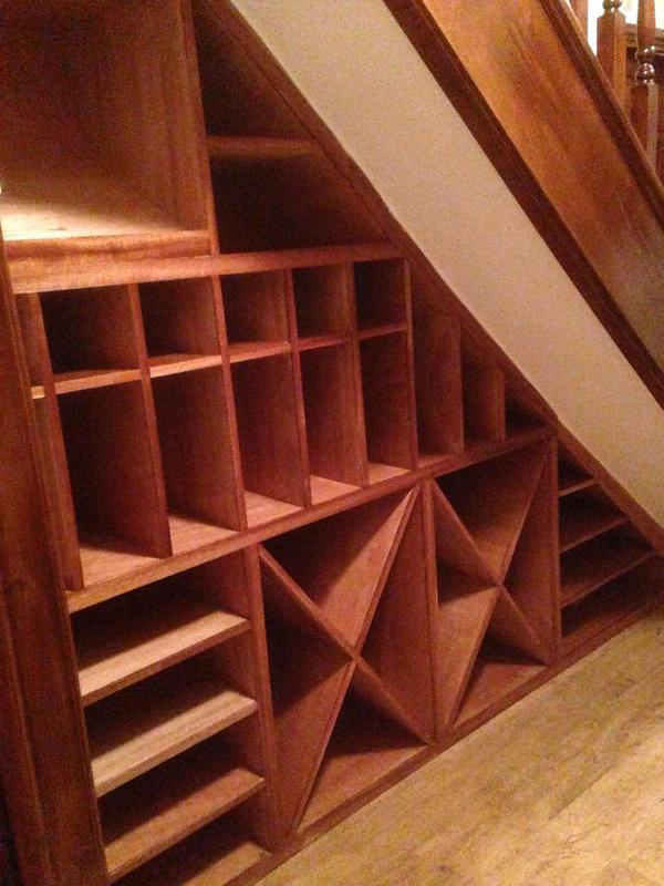 Image 13 - Under stairs Wine rack