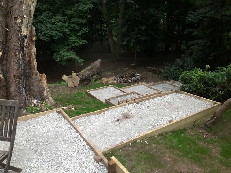 Image 22 - Woodland Landscape With Sub-Base Finished...