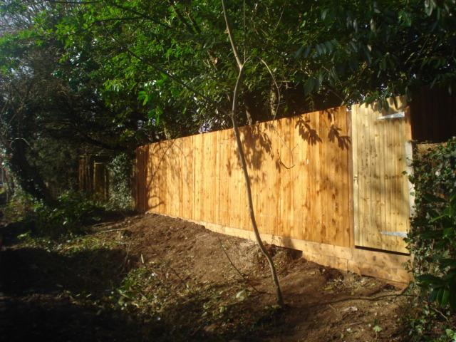 Image 77 - after new fence up